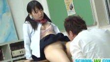 Japonka spalcowana w klasie
